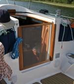 Moskitiera łodziowa